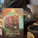 Card of the Day - 11th January 2021 - Wombat Spirit